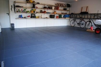 flexi tile boden f r werkstatt und garage. Black Bedroom Furniture Sets. Home Design Ideas