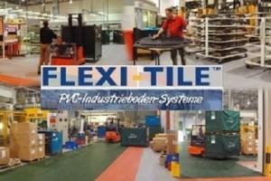 Industriefußboden der neuen Generation: Flexi-Tile™ Industrial