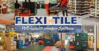Industriefußboden der neuen Generation: Flexi-Tile™ Industrial