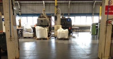Flexi-Tile als Industriehallenboden