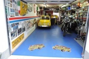 Anwendungsbeispiel Garagenboden Flexi-Tile