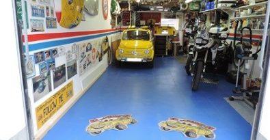 Flexi-Tile Garagenboden aus PVC