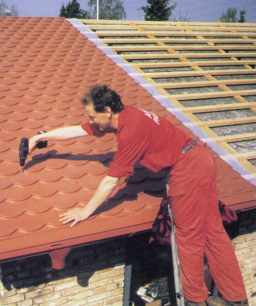 metall biberschwanzprofile leichtdach f r die sanierung. Black Bedroom Furniture Sets. Home Design Ideas