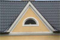 Metall Dachpfannenprofil mit Gaube