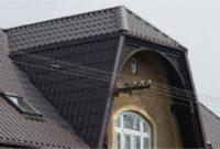 Metall Dachpfannenprofile Dach mit Gaube