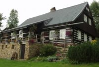 Metall-Dachpfannenprofile - Wohnhaus mit Schleppdach