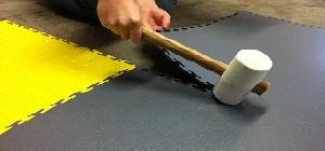 Flexi-Tile Verlegung