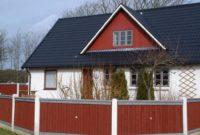 Metall-Dachpfannenplatten - Wohnhaus