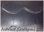 Metall-Biberschwanzprofil Farbton Anthrazit