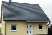 Metall-Dachpfannenprofile - Wohnhaus Dachüberstand