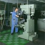 Tecto-San Classic Kunststofffliese verlegt als Mattenbereich