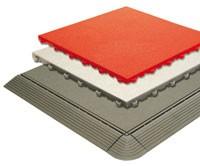Tecto-San PP Fliesen Oberfläche Floor - HAMMERSCHLAG-PROFIL