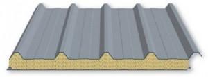 PUR-Sandwichpaneele Dach - Isoprofil