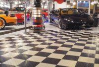 Kunststoff Bodenfliesen für die Ausstellung