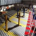 Tecto-San Classic als Boden für die Garage