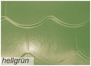 Metall Biberschwanz Profilblech in hellgrün