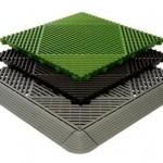 Tecto-San Classic Kunststoff-Bodenplatten
