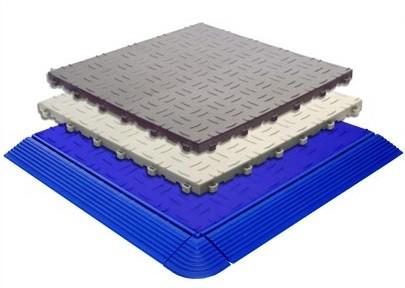 Tecto San Grip Kunststoff Bodenplatten