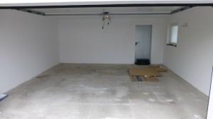 Anwendungsbeispiel - Flexi-Tile PVC Garagenboden - vorher