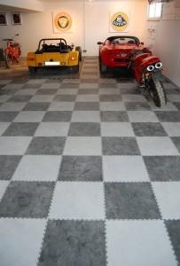 Anwendungsbeispiel – Flexi-Tile als Garagenboden - nachher