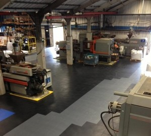Anwendungsbeispiel Industrieboden Flexi-Tile