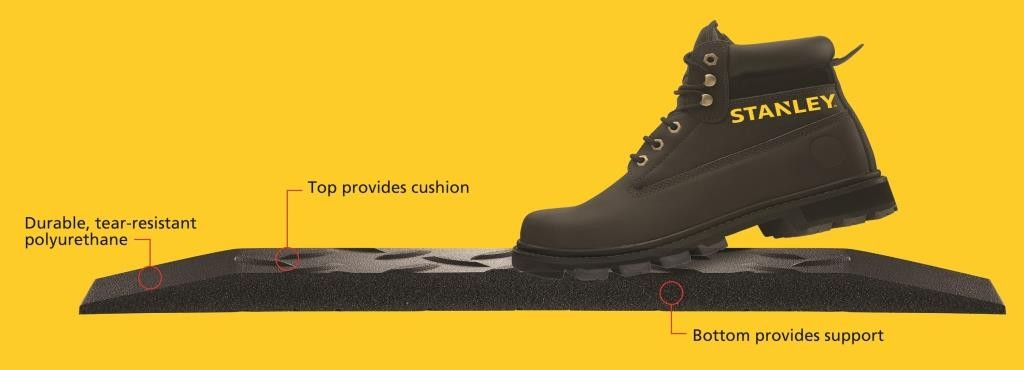 Langlebig, reißfestem Polyurethan - Top bietet Polster - Boden bietet Unterstützung