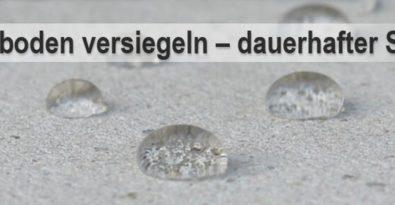 Foto Betonboden versiegeln mit Perleffekt