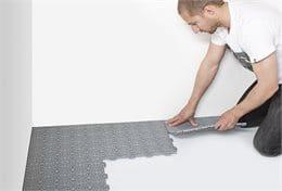 Verlegebeispiel Bergo XL Installation 1