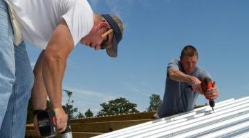 Dacheindeckung aus Metall