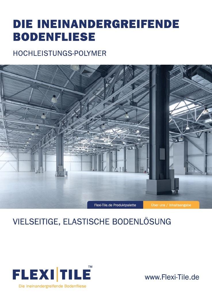Neue Flexi-Tile Produkt-Broschüre