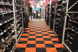Boden für Merchandising