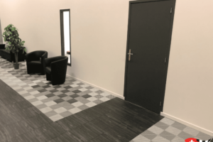 Bodenbelag für Ausstellungsraum