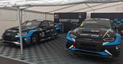 Swisstrax Kunststoff Fliese als Garagenboden im Motorsport