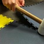 Kann ich Flexi-Tile über eine alte Oberfläche installieren?